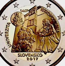 Slovakia 2 Euro Coin 2017 Commemorative Istropolitana University New BUNC f/roll