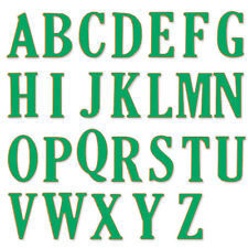 5CM Large Big Alphabet Letters Cutting Dies Stencils Metal for DIY Scrapbooking