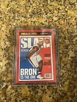 2020-21 NBA Hoops Lebron James Slam Cover Bron Is The One #2  SP SSP
