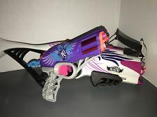 Nerf Rebelle Gun Guardian Crossbow & Pistol Lot Pink Purple Girls and 9 Darts