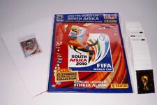 PANINI WM 2010 - Complete set (664 stickers) + UK Edition Album + tracker poster