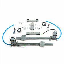 Flat Glass Window Switch Kit for 39-56 Mercury 1/2in 24in w/Billet Crank Handle