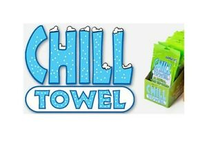 Chill Towels Australia - Instant Cooling,Antiseptic & Antibacterial Properties.