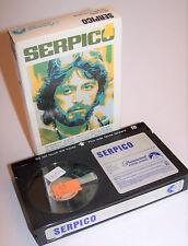 Vintage 1981 Serpico BETA Video Cassette Movie - Betamax