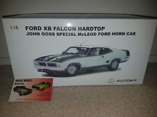 1:18 Biante XB Falcon Coupe John Goss Special Green / White McLeod Ford Horn Car
