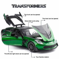 JADA 1: 24 TRANSFORMERS CROSSHAIRS LAST KNIGHT 2016 CHEVROLET STINGRAY DIECAST