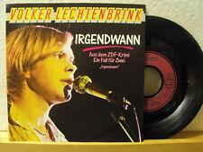 """7"""" Single - VOLKER LECHTENBRINK - Irgendwann - Metronome 1988 - Neuwertig!"""
