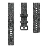 Original Fitbit Versa FB505 FB504 Fabric Texture Woven Wristband Band Small Gray