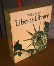 LIBERTY LIBRARY Weekly Reader's 7 book lot 1968 American history Constitution
