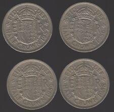 More details for 1956-1959 elizabeth ii half crown date run | british coins | pennies2pounds