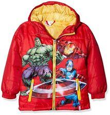 Marvel Avengers Captain America Shield Manteau Garçon Red 5-6 ans