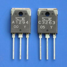 1pcs 2SA1294 & 1pcs 2SC3263 SANKEN Audio Transistor, A1294 C3263