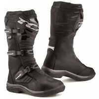 TCX Baja GTX Gore-Tex Dual Sport Motorcycle Boots Black Size 8.5 US / 42 EU