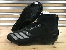 Adidas Adizero 5-Star 7.0 Mid Football Cleats Triple Black Out SZ ( DB0405 )