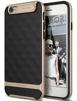 iPhone 6 / 6S Caseology® [Parallax] Black/Gold Slim Protective Case