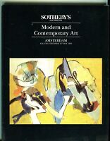 Sothebys Auction Catalog May 21 1992 Modern and Contemporary Art