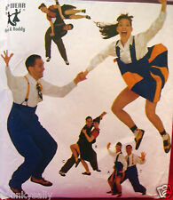 SEWING PATTERN Simplicity 8952 SWING DANCE BIG BAND Costume Mens 34-44 Ms 6-18