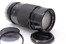 Canon FD 200mm 1:4 S.S.C. silver lock Festbrennweite Objektiv Prime Lens