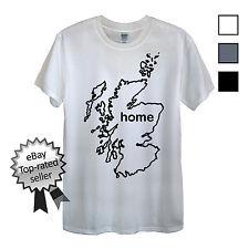 ESCOCIA CAMISETA Encuentra Tu Propio País hombre o mujer Bandera Escocia sí Kilt