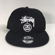 Stussy Logo New Era Black Snapback Adjustable Hat Youth Size