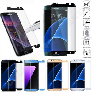 Case Friendly Cover Tempered Glass Screen Protector For Galaxy S7/S8 Plus Edge