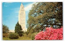 Postcard Louisiana State Capitol, Baton Rouge LA Z7