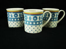 3 VILLEROY & BOCH TWIST ANNA MUGS IN EXCELLENT CONDITION