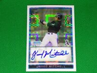 2009 Bowman Chrome Draft Prospects X-Fractors BDPP88 Jared Mitchell 109/225 Auto