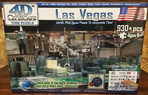 City of Las Vegas History Over Time Puzzle 4D 930 Piece Puzzle by Cityscape -New