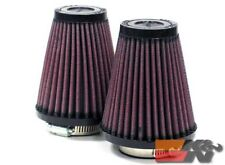 K&N Universal Clamp-On Air Filter For 1-11/16FLG,3-1/2B,2T,4H (2 PER BOX) R-1082