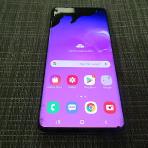 SAMSUNG GALAXY S10, 128GB - (T-MOBILE) CLEAN ESN, WORKS, PLEASE READ!! 41077