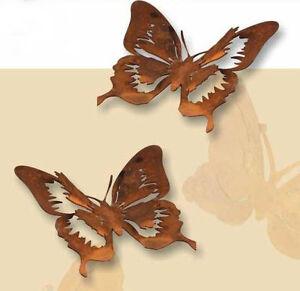Schmetterling aus Edelrost, Dekoration, Hängedeko