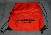 Righteous Kill backpack gym bag Light red nylon De Niro Pacino movie RARE!
