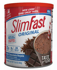 SlimFast Original Meal Replacement Shake Mix - Rich Chocolate 12.83oz - Exp 9/21