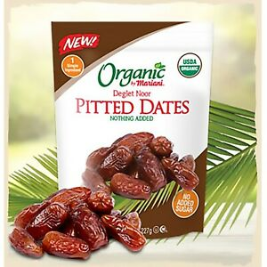 ORGANIC Deglet Noor Dates | 40 oz Bulk Bag |No added Sugar or Sulfates