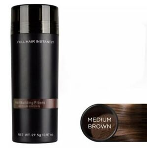 Toppik 27,5gr Poudre de Cheveux densifiant Calvitie Fiber - Medium Brown