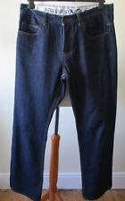 """JEANS FCUK FRENCH CONNECTION Dark Blue Regular Cotton Button Fly W 32"""" L 34"""""""