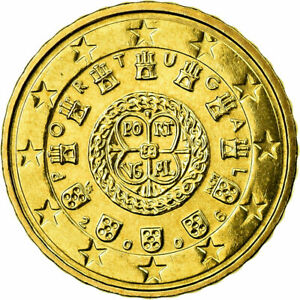 [#702316] Portugal, 10 Euro Cent, 2006, FDC, Laiton, KM:743