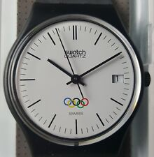 """Swatch """"Olympia Logo"""" GZ 400 RE Olympic Special Gent 1987"""