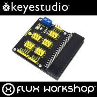 Keyestudio Sensor Shield for BBC micro:bit Breakout Screw I2C Flux Workshop