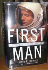 First Man Life Neil Armstrong James R. Hansen 1st Ed. SIGNED!!!!