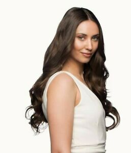 Stranded 18-20 inch one piece curly clip in hair extensions hairpiece weft
