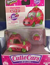 Shopkins Cutie Cars Qt3��21 Cherry Ride- Includes Mini Shopkin