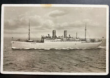 1936 Bremen Germany RPPC Postcard cover Sierra Cordoba Passenger Ship