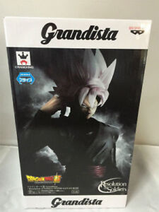 Banpresto Dragonball Super Z Grandista Resolution of Soldiers Rose Black Goku