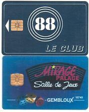 2 Cartes Jeux - Lot 1