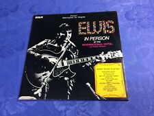 ELVIS PRESLEY (2LP) IN PERSON /FROM MEMPHIS TO VEGAS [RCA 1983 RARE GERMAN] EX