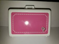 Barbie Doll Pink & White Briefcase Style Luggage Doll Accessory