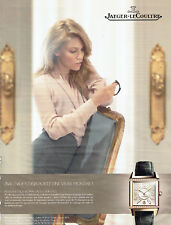 Publicité Advertising 107   2011  montre reverso squadra lady Jaeger Lecoultre