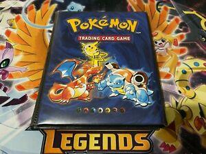 Pokemon EX, Lvx and Prime Holo Lot Including Original Pokemon Binder